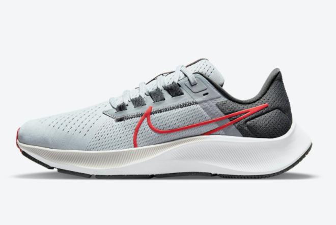 "Nike Air Zoom Pegasus 38 ""Wolf Grey"" 2021 New Arrival CW7356-004"